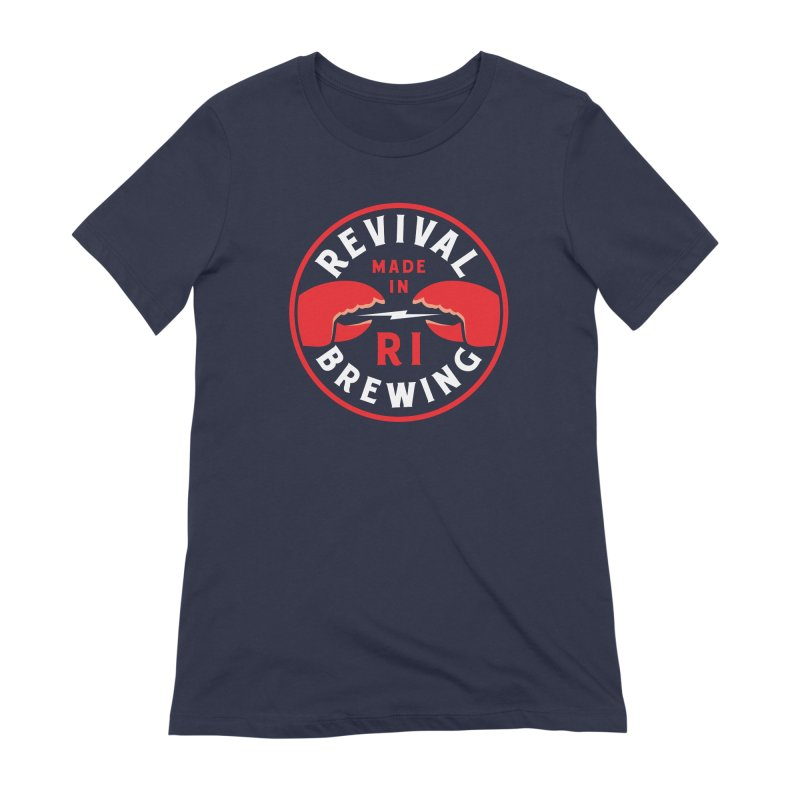 Made in RI Women's Extra Soft T-Shirt by Revival Brewing