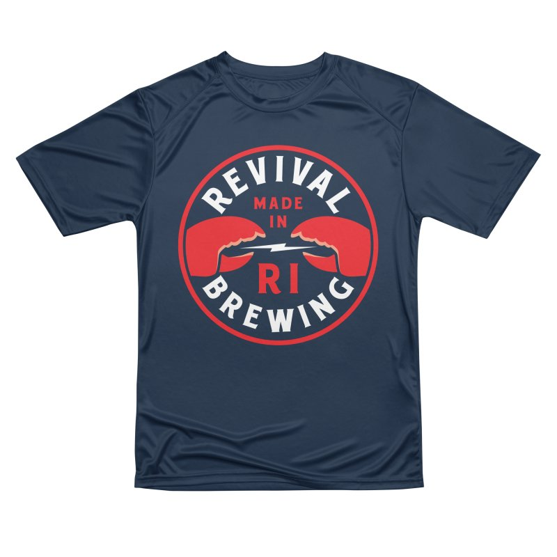 Made in RI Women's Performance Unisex T-Shirt by Revival Brewing
