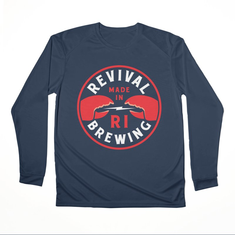Made in RI Men's Performance Longsleeve T-Shirt by Revival Brewing