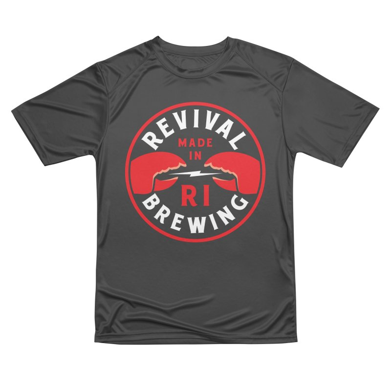 Made in RI Men's Performance T-Shirt by Revival Brewing