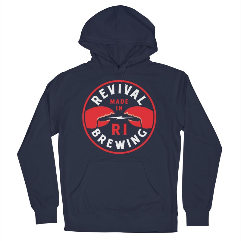 Made in RI Men's French Terry Pullover Hoody by Revival Brewing