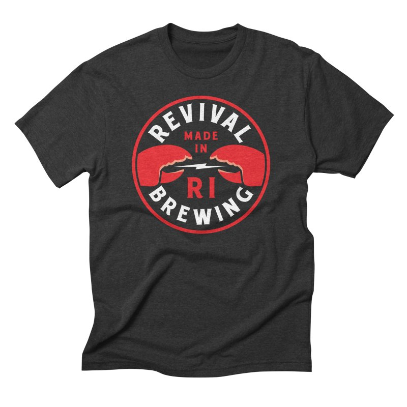 Made in RI Men's Triblend T-Shirt by Revival Brewing