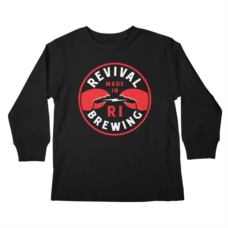 Made in RI Kids Longsleeve T-Shirt by Revival Brewing