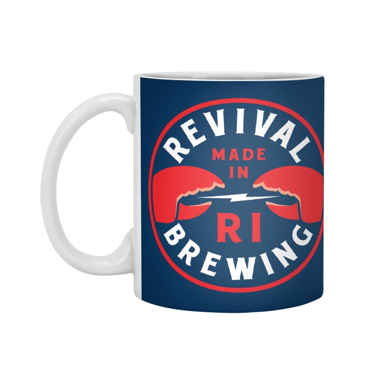 Made in RI Accessories Standard Mug by Revival Brewing