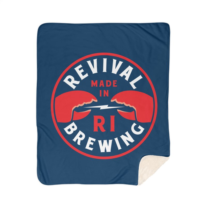 Made in RI Home Sherpa Blanket Blanket by Revival Brewing