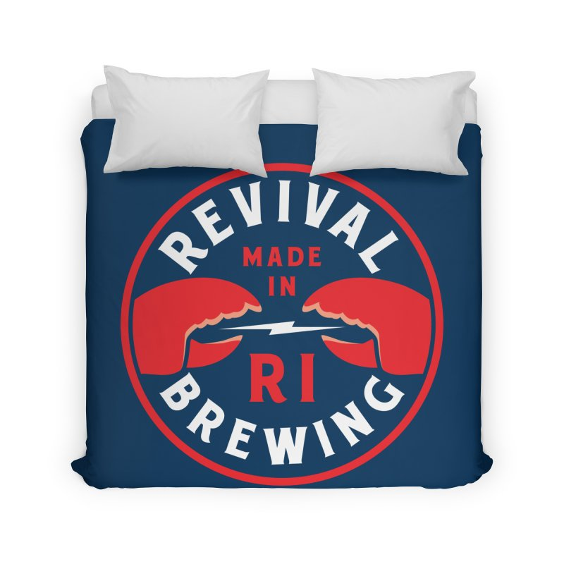 Made in RI Home Duvet by Revival Brewing