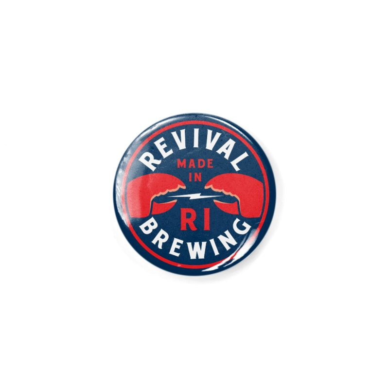 Made in RI Accessories Button by Revival Brewing