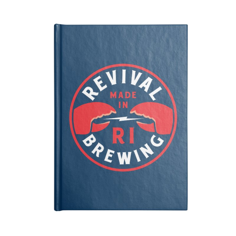 Made in RI Accessories Lined Journal Notebook by Revival Brewing