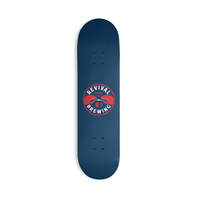Made in RI Accessories Deck Only Skateboard by Revival Brewing