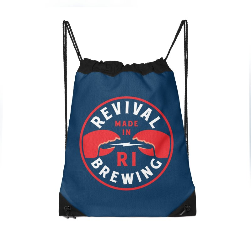 Made in RI Accessories Drawstring Bag Bag by Revival Brewing