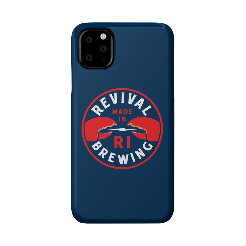 Made in RI Accessories Phone Case by Revival Brewing