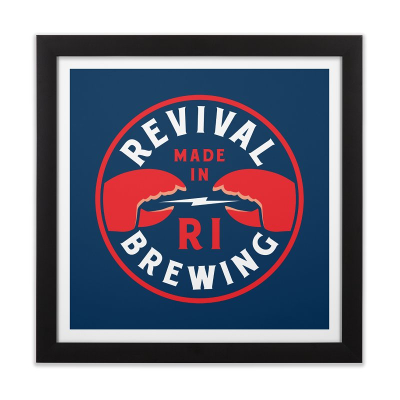 Made in RI Home Framed Fine Art Print by Revival Brewing