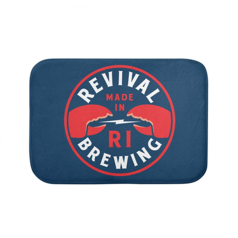 Made in RI Home Bath Mat by Revival Brewing