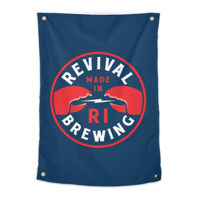 Made in RI Home Tapestry by Revival Brewing