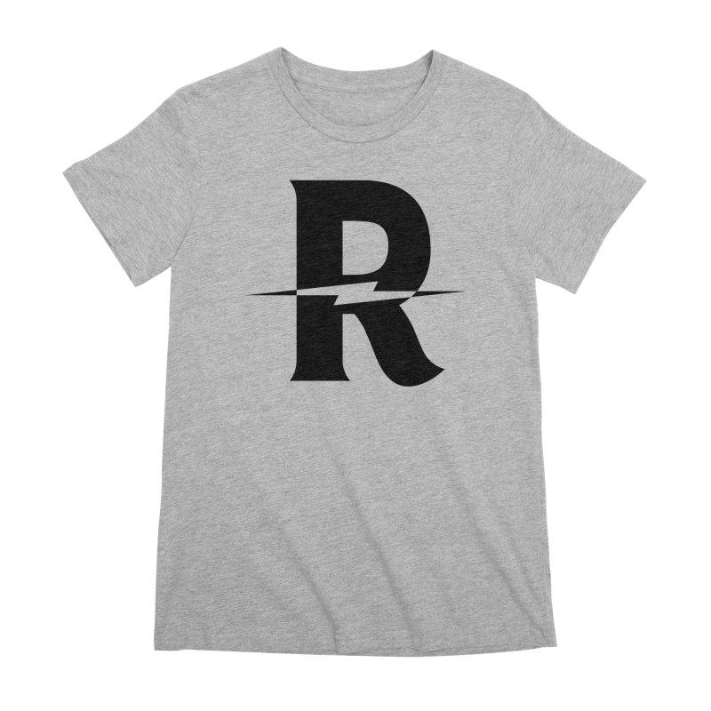 Revival Dark Bolt Women's Premium T-Shirt by Revival Brewing