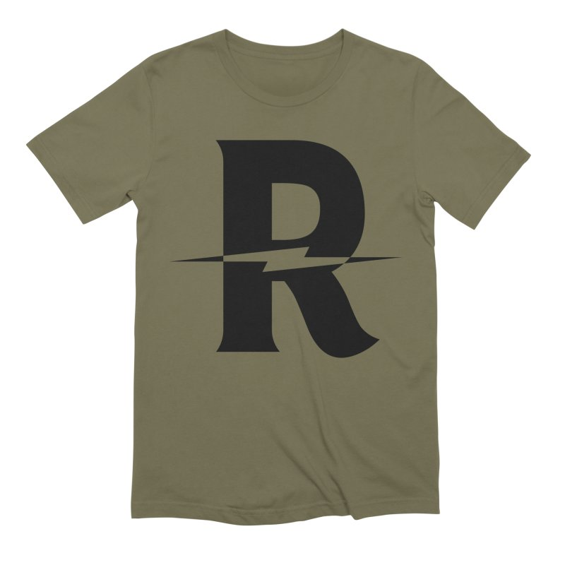 Revival Dark Bolt Men's Extra Soft T-Shirt by Revival Brewing