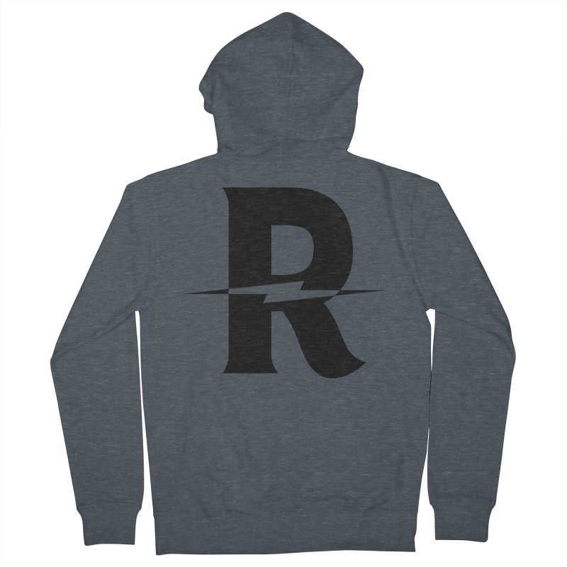 Revival Dark Bolt Women's French Terry Zip-Up Hoody by Revival Brewing