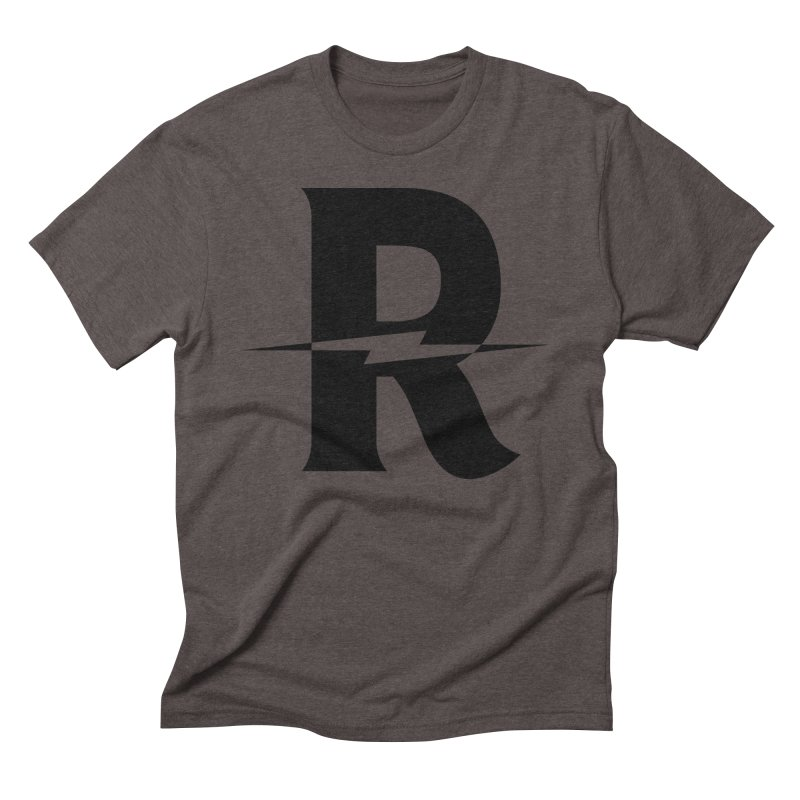 Revival Dark Bolt Men's Triblend T-Shirt by Revival Brewing