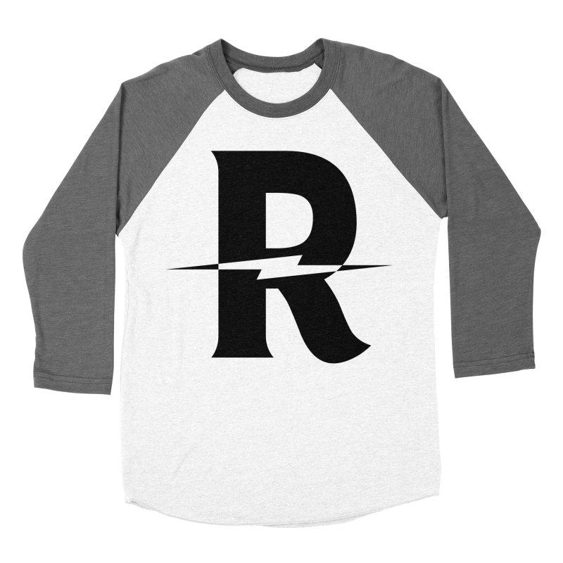 Revival Dark Bolt Women's Baseball Triblend Longsleeve T-Shirt by Revival Brewing