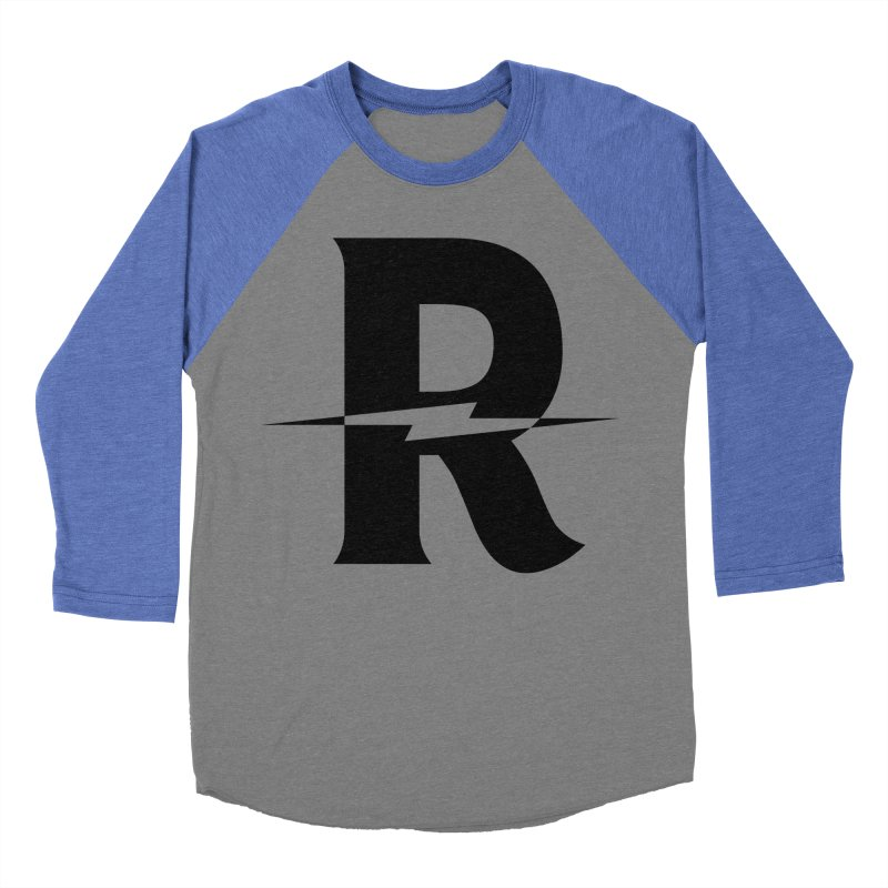 Revival Dark Bolt Men's Baseball Triblend Longsleeve T-Shirt by Revival Brewing