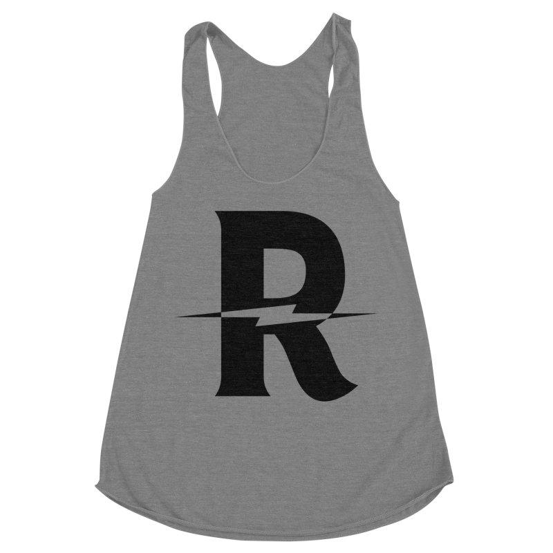 Revival Dark Bolt Women's Racerback Triblend Tank by Revival Brewing