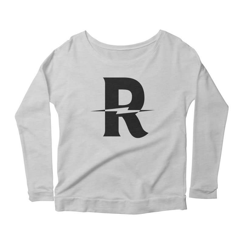 Revival Dark Bolt Women's Scoop Neck Longsleeve T-Shirt by Revival Brewing