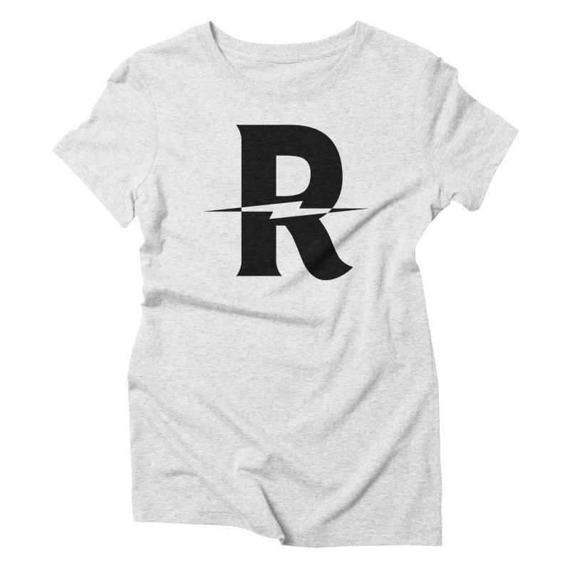 Revival Dark Bolt Women's Triblend T-Shirt by Revival Brewing