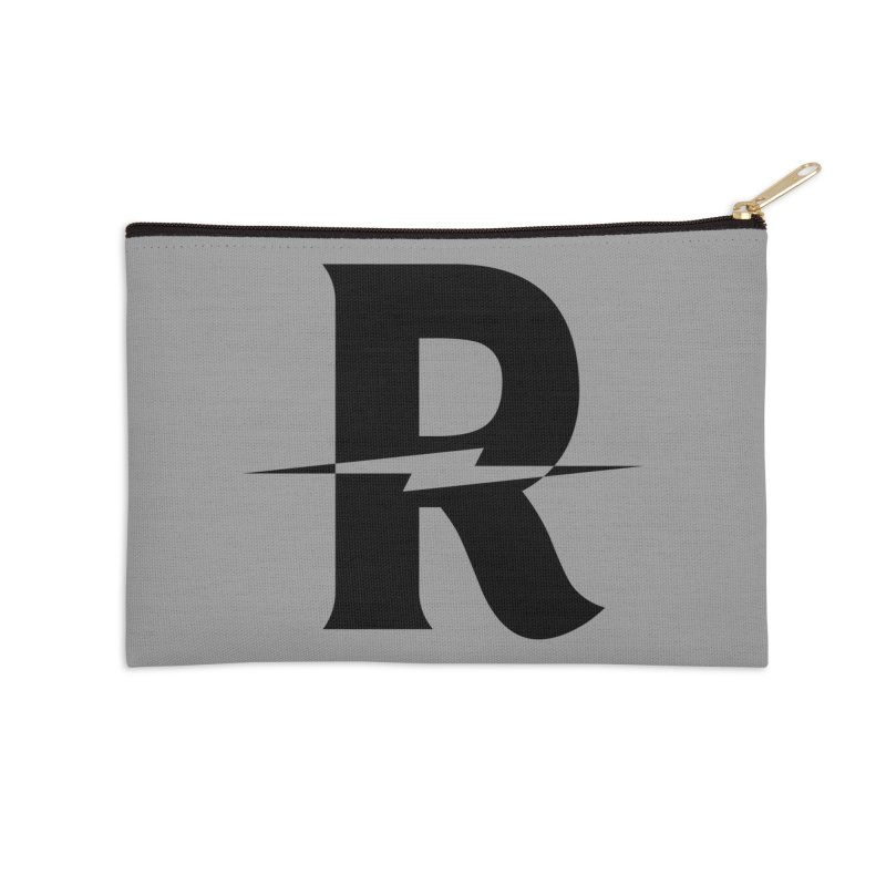 Revival Dark Bolt Accessories Zip Pouch by Revival Brewing