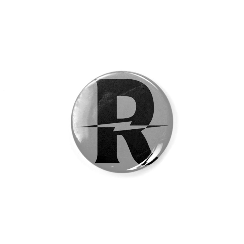 Revival Dark Bolt Accessories Button by Revival Brewing