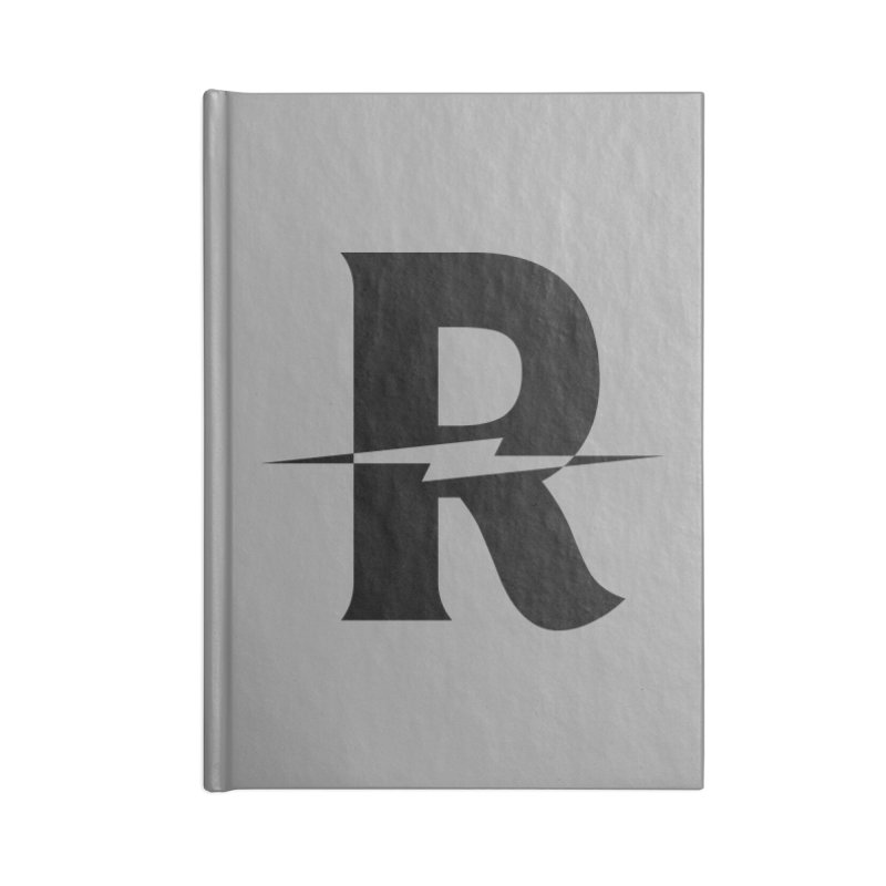 Revival Dark Bolt Accessories Lined Journal Notebook by Revival Brewing