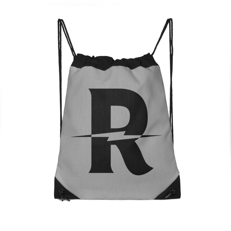 Revival Dark Bolt Accessories Drawstring Bag Bag by Revival Brewing