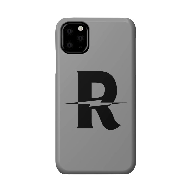 Revival Dark Bolt Accessories Phone Case by Revival Brewing