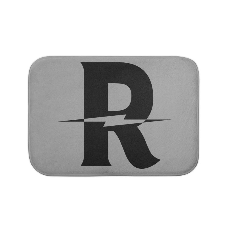 Revival Dark Bolt Home Bath Mat by Revival Brewing