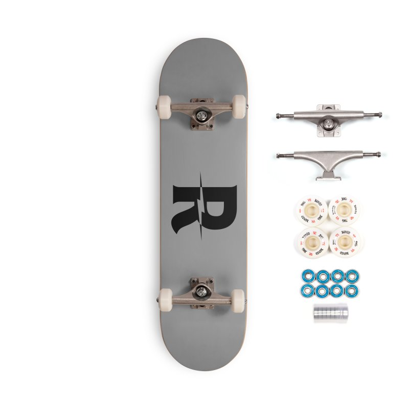 Revival Dark Bolt Accessories Complete - Premium Skateboard by Revival Brewing
