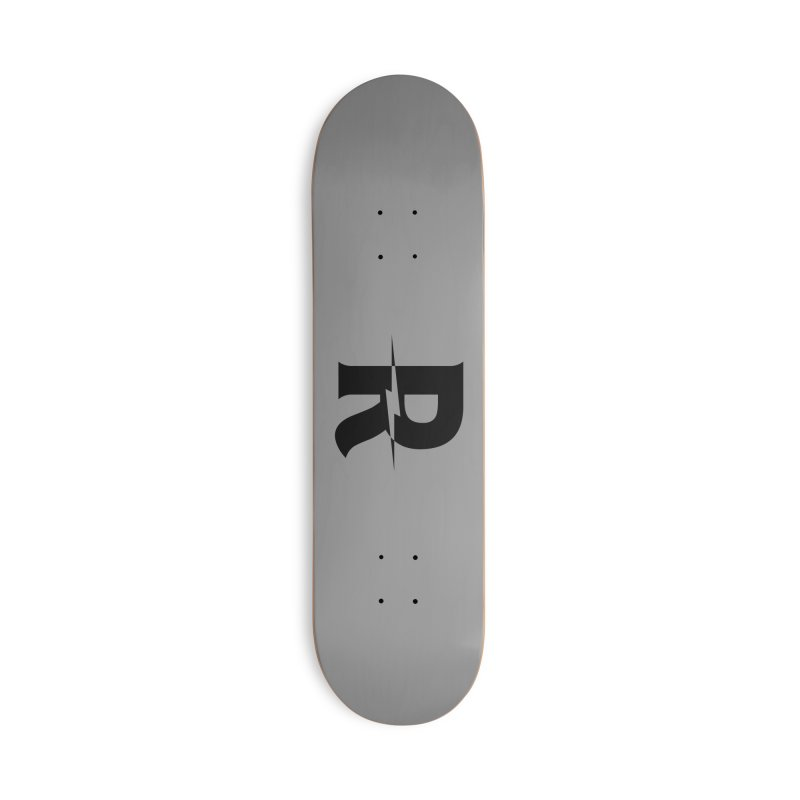Revival Dark Bolt Accessories Deck Only Skateboard by Revival Brewing
