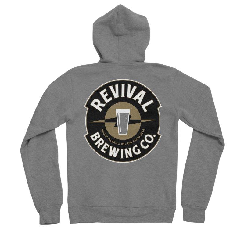 Revival Pint Men's Sponge Fleece Zip-Up Hoody by Revival Brewing