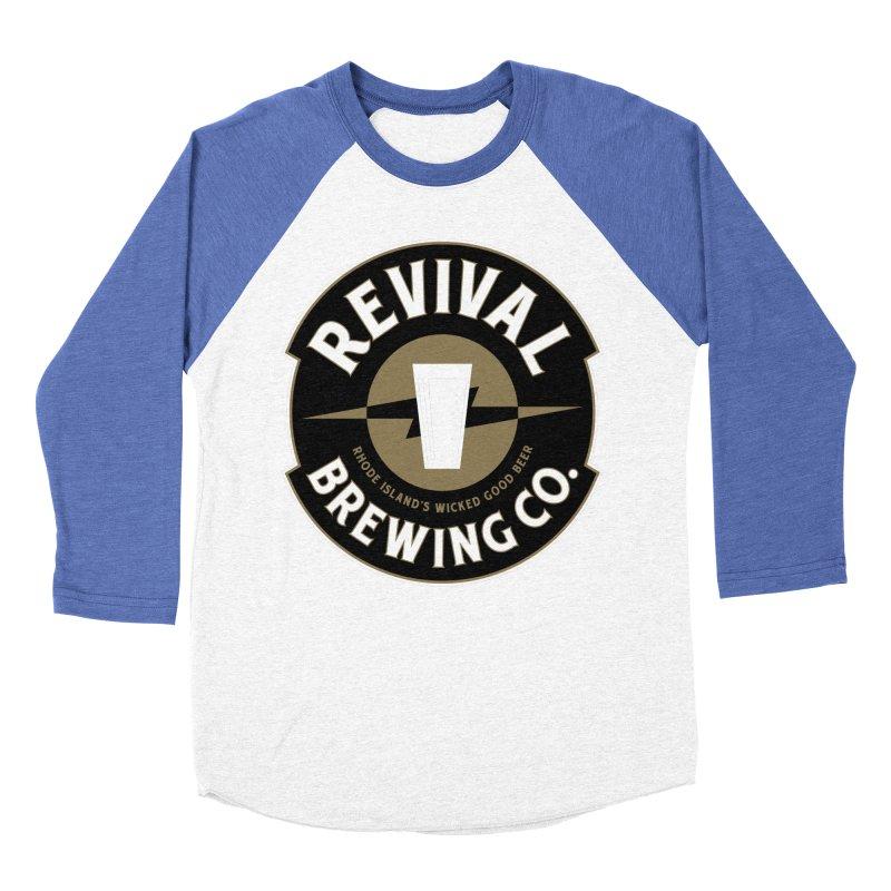 Revival Pint Women's Baseball Triblend Longsleeve T-Shirt by Revival Brewing