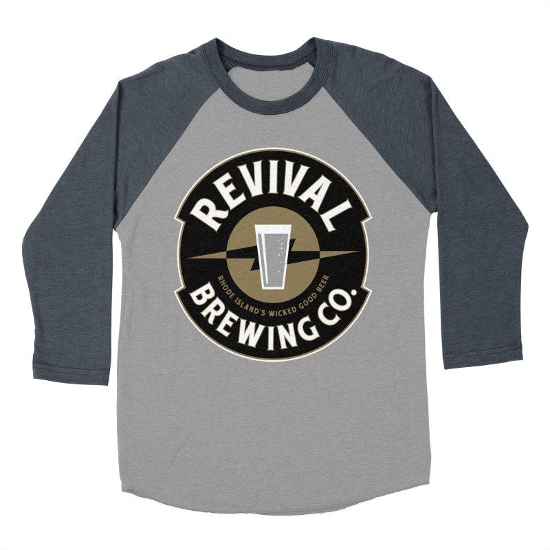Revival Pint Men's Baseball Triblend Longsleeve T-Shirt by Revival Brewing
