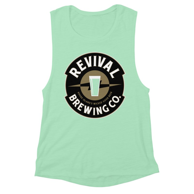 Revival Pint Women's Muscle Tank by Revival Brewing