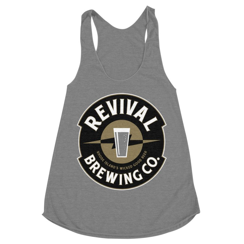 Revival Pint Women's Racerback Triblend Tank by Revival Brewing