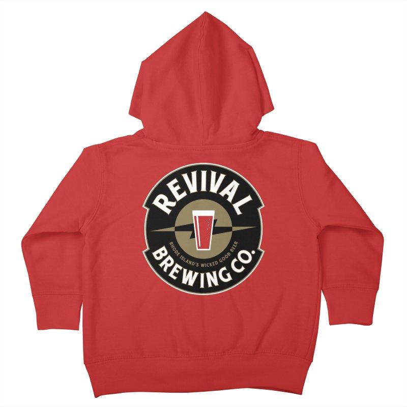 Revival Pint Kids Toddler Zip-Up Hoody by Revival Brewing
