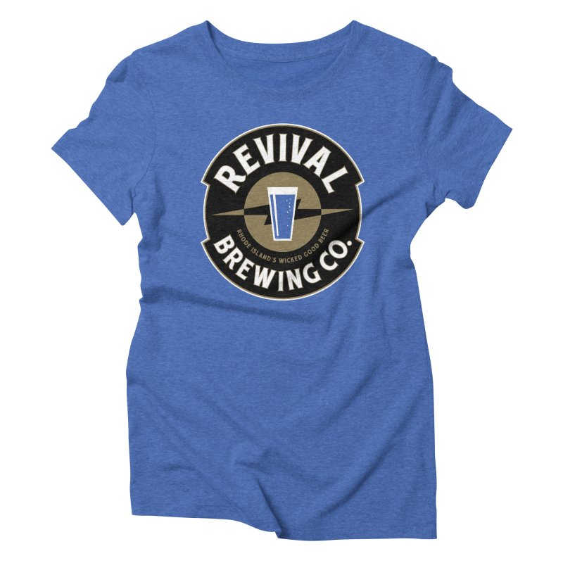 Revival Pint Women's Triblend T-Shirt by Revival Brewing