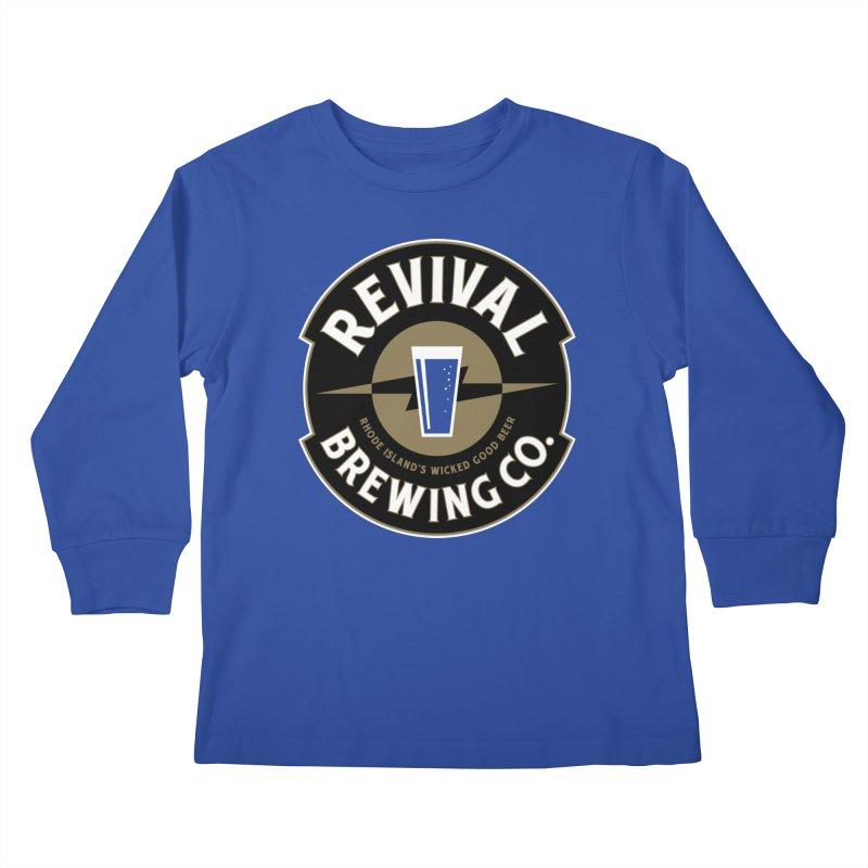 Revival Pint Kids Longsleeve T-Shirt by Revival Brewing