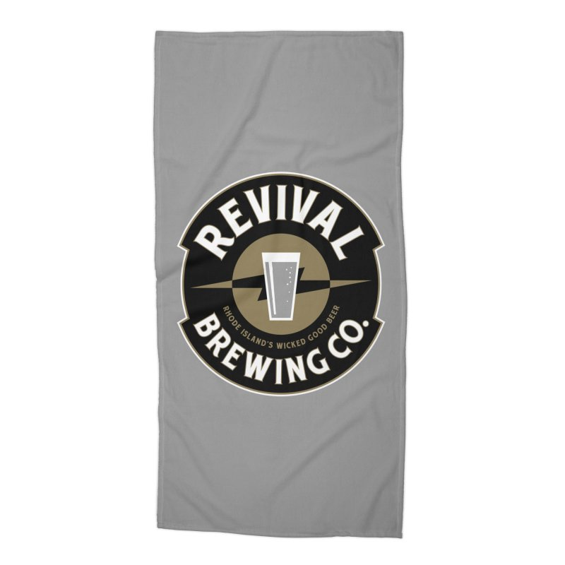 Revival Pint Accessories Beach Towel by Revival Brewing