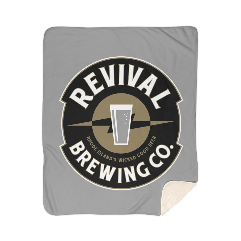 Revival Pint Home Sherpa Blanket Blanket by Revival Brewing