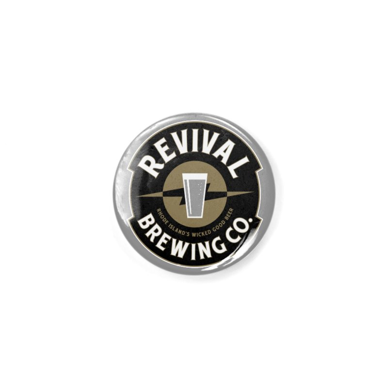 Revival Pint Accessories Button by Revival Brewing