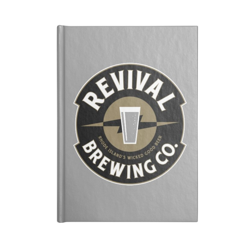 Revival Pint Accessories Lined Journal Notebook by Revival Brewing
