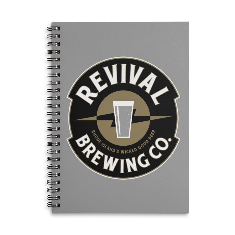 Revival Pint Accessories Lined Spiral Notebook by Revival Brewing