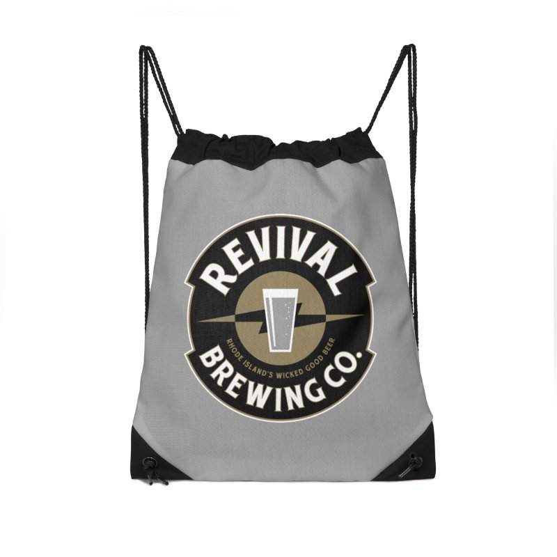Revival Pint Accessories Drawstring Bag Bag by Revival Brewing