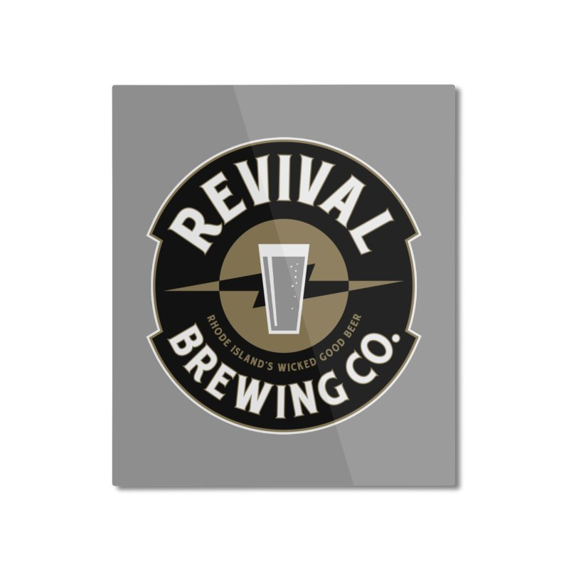 Revival Pint Home Mounted Aluminum Print by Revival Brewing